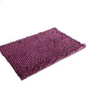 Siniao 5080cm Soft Shaggy Non Slip Absorbent Bath Mat Bathroom Shower Rugs Carpet