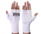 BOOM Prime Boxing Inner Gloves Fist Hand Support Kick Boxing Martial Arts Muay Thai Training