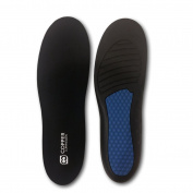 Copper Compression Anti-Fatigue Foot Insole. GUARANTEED Highest Copper Content Orthotic Shoe Insoles / Inserts. Patent Pending. Support Standing, Walking, Running, Sports, Plantar Fasciitis