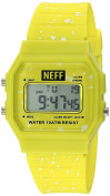Neff Unisex NF0226BLCK Flava XL Surf Digital Display Chinese Automatic Black Watch