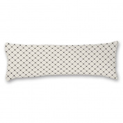 Tamengi Black And White Geometric Design Custom Cotton Body Pillow Covers Pillow Cases 50cm x 140cm