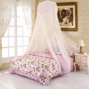 Nattey Princess Lace Bedding Mosquito Net Canopy Bites Protect For Twin Queen King Size Canopies