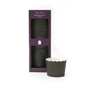 Paper Eskimo Baking Cup, Solid Black, 25 Pack