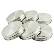 Zoie + Chloe Stainless Steel Mason Jar Lids with Silicone Seals