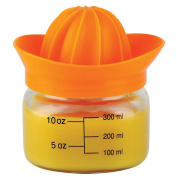 CKB Ltd Glass Mason Juicer Squeezer Includes A Cap With Lid - Holds 13.5 Oz/400 Ml