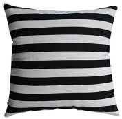 Multi-sized Both Sides Striped Printed Cushion Cover LivebyCare Linen Cotton Throw Pillow Case Sham Pattern Zipper Pillowslip Pillowcase For Bed Room Sofa Couch Chair Back Seat