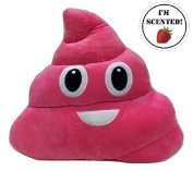 Emojicon Strawberry Scented Poop Pillow
