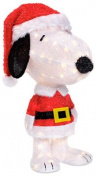 Snoopy With Antlers Holiday Figure