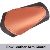 XTACER Unisex Traditional Cow Leather Arm Protector Guard, Finger Tab, Pull Bow Protect Arm for Shooting Barcer Hunting Archery