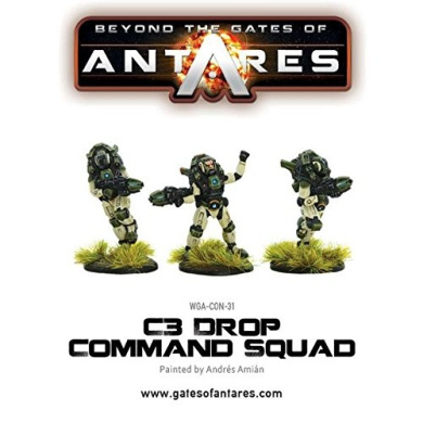 Beyond the Gates of Antares: Concord - C3 Drop Command Squad