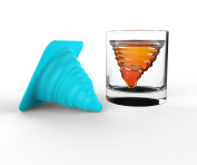 Mixology Ice Tornado- Silicone Ice Mould And Glass