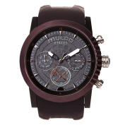 Mulco MW3-15097-035 Street London Collection Brown Silicone Band