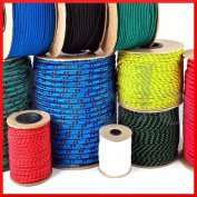 4mm Polypropylene Rope Braided Poly Cord Line Sailing Boating Camping Climbing Yachting
