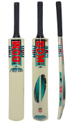 BDM Kashmir Willow Wood Tennis Cricket Bat With Carry Case Cane Handle Adult Sizes - Choose Weight
