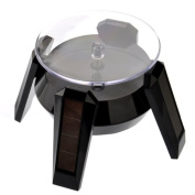 VORCOOL 360-degree Rotating Display Stand - Solar or AA Battery Powered