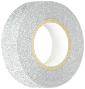 Best Creation Glitter Tape, 15mm by 5m, Silver