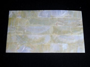 GOLD MOP abalone shell inlay veneer 9.5 x 14cm x 0.02cm