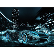 Blxecky 5D DIY Diamond Painting By Number Kits,Sports car