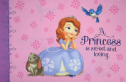 Sofia A Princess Is Sweet And Loving 100% Polyester (Pillowcase Only) Size STANDARD Boys Girls Kids Bedding