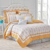 Dena Home 028828993618 Dream Twin Yellow Quilt