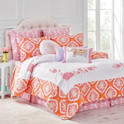 Dena Home 028828240187 Amara Full/Queen Coral Quilt