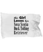 Nova Scotia Duck Tolling Retriever - Pillow Case