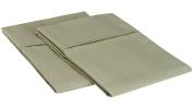 Blue Nile Mills 1500 Series Microfiber Solid Pillowcase Set, Extra Soft, Wrinkle Resistant, Standard, Sage