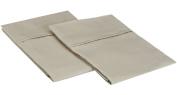 Blue Nile Mills 1500 Series Microfiber Solid Pillowcase Set, Extra Soft, Wrinkle Resistant, King, Tan