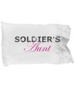 Soldier's Aunt - Pillow Case