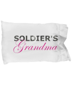 Soldier's Grandma - Pillow Case