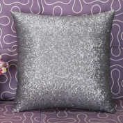 Leegor Stylish Glitter Sequins Throw Pillow Case Wrinkle Free Stain Resistant Cushion Covers Cafe Home Decor