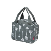 Grey Arrow Print NGIL Insulated Lunch Bag