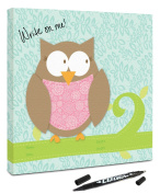 """Canvas Kudos """"Baby Owl"""" Decorative Sign, 30cm by 30cm"""
