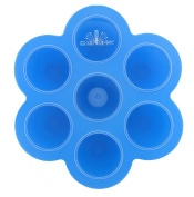 Chef Vinny 7 Slot Silicone Baby Food Container- Freezer, Microwave Dishwasher Safe