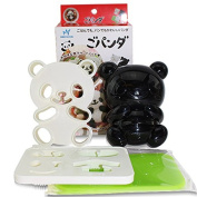 Japanese Bento Accessories Cute Baby Panda Shape Rice Mould & Seaweed Nori Cutter Set