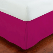 Fancy Collection Easy Care Tailored Microfiber Bed Skirt Solid New