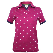 Hazy Blue Lilly Ladies Polo Shirt - Clover