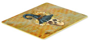 Caroline's Treasures BB5126JCMT Day of the Dead Witch Skull Kitchen or Bath Mat 24x36 , 24H X 36W, multicolor