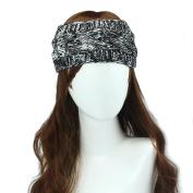 Leegor Soft Twist Knit Wide Hairband Ear Warmer Headwrap Mixing Colour Headband
