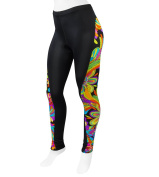 Women's Rio Wild Print Cycling Tights - Made in USA