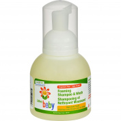 Lafe's Natural and Organic Baby Foaming Shampoo and Wash - 350ml