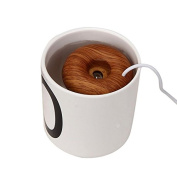 Mikey Store Home Office Mini USB Donuts Humidifier Floats On The Water Air Fresher