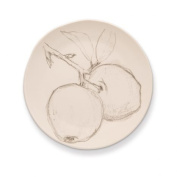 Rosy Rings Ceramic Round Plate