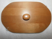 Longaberger 3006 Natures Garland Woodcrafts Lid Warm Brown