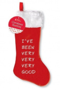 PinkWebShop Christmas Stocking 69Cm I'Ve Been Very Very Good 6 Pack Holiday Present