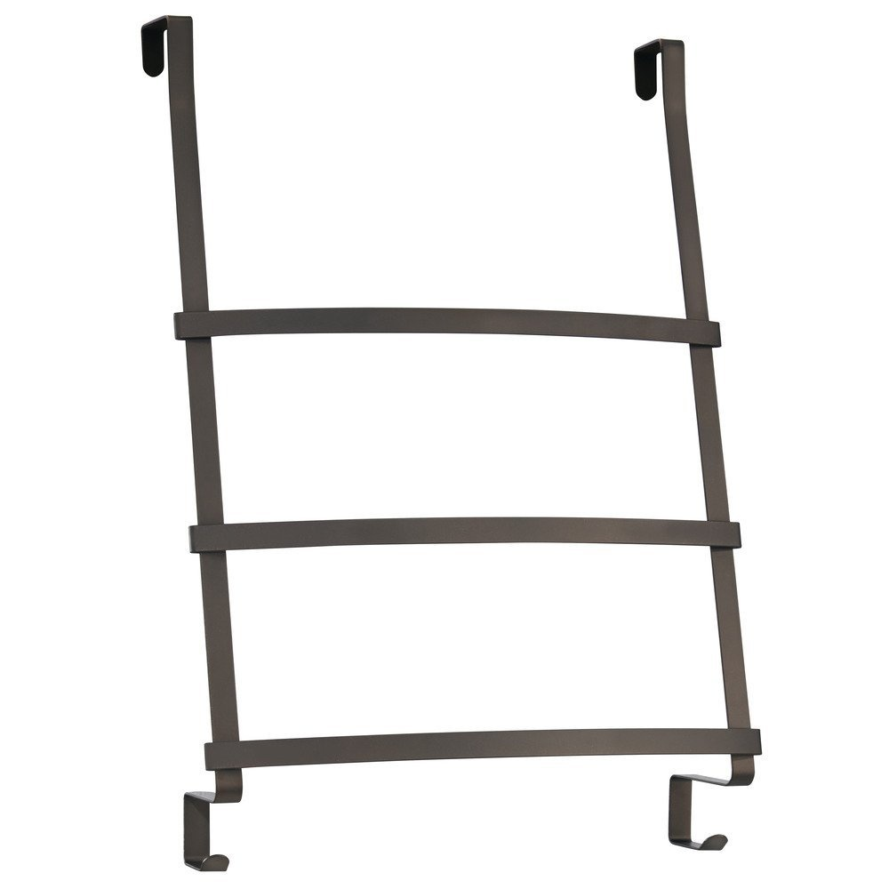 Interdesign 59651 Gia Over The Door Towel Rack With 3 Bars For