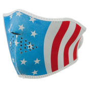 Neoprene Half Face Mask - Glow Stars Stripes