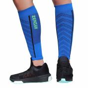 Zensah Featherweight Compression Leg Sleeves – Calf Sleeve for Men and Women – Relieve Shin Splints, Calf Pain – Ultra-light Calf Guard for Running, Basketball, Maternity, Travel, Nurses