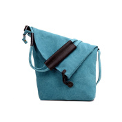 LINGTOM Casual Vintage Hobo Canvas Cross Body Messenger Bags Large Capacity Weekend Travel Shoulder Bag