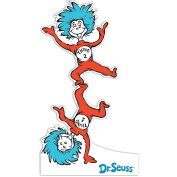 Dr Seuss Room Decor - Thing 1 and Thing 2 Life Size Cardboard Standup